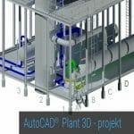 Logo grupy AutoCAD Plant 3D – projekt